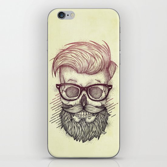 Hipster is Dead iPhone & iPod Skin