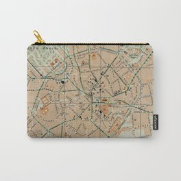 Vintage Map of Milan Italy (1911) Carry-All Pouch