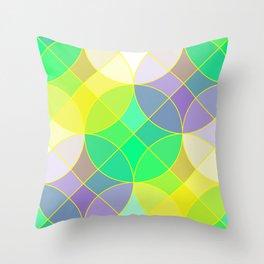 Elegant mosaic tile Throw Pillow