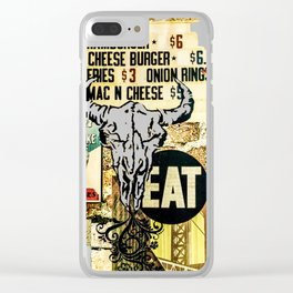 Eat Clear iPhone Case