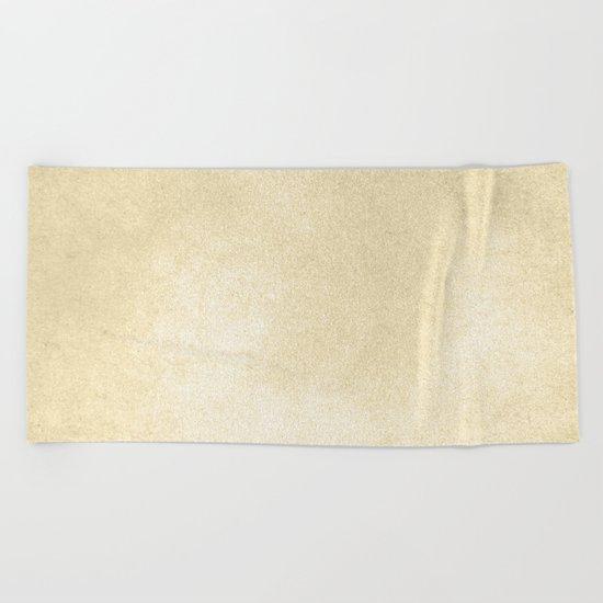 Simply Antique Linen Paper Beach Towel