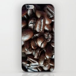Cup Of Coffee Beans iPhone Skin
