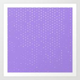 cancer zodiac sign pattern pu Art Print