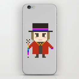 Digital Jack Sparrow and Willy Wonka iPhone Skin