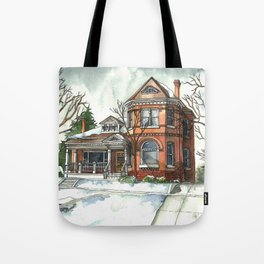 Victorian House in The Avenues Tote Bag