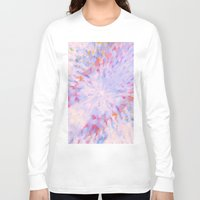 rush Long Sleeve T-shirts featuring Rainbow Rush by Bud M