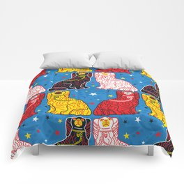 staffordshire dogs Comforters
