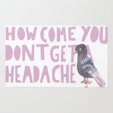 Headache! Rug