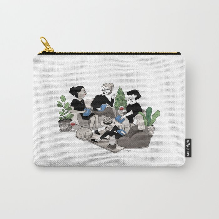 Book Club Carry-All Pouch