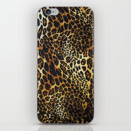 leopard skin iPhone Skin