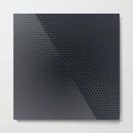 Honeycomb sheen Metal Print