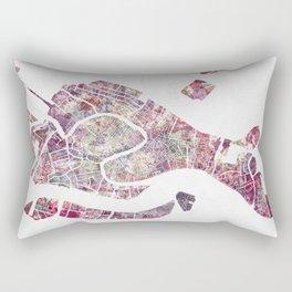 Venice map Rectangular Pillow