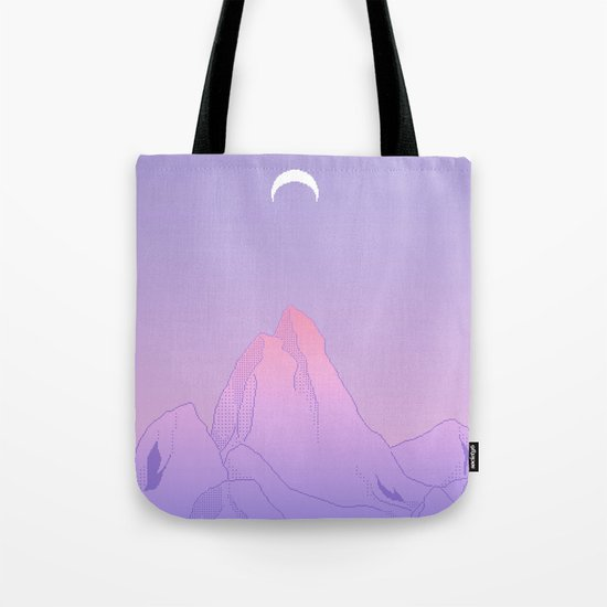 Soft Moon Tote Bag