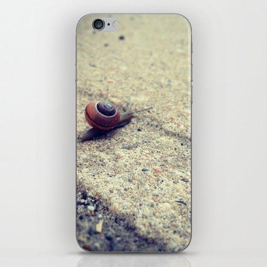 Snailing Around iPhone & iPod Skin