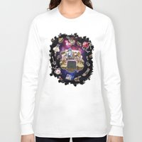 regular show Long Sleeve T-shirts featuring Regular Show lost in Universe by CarolaRT