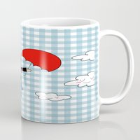 mary poppins Mugs featuring Mary Poppins by EnelBosqueEncantado