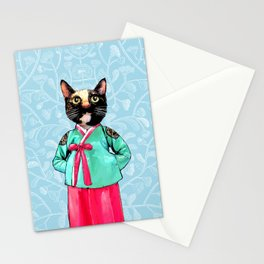 Jade and Pearl Stationery Cards