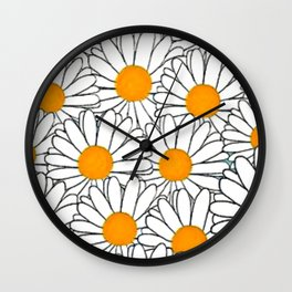marguerite-61 Wall Clock