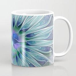 Floral Beauty, Fantasy Flower Coffee Mug