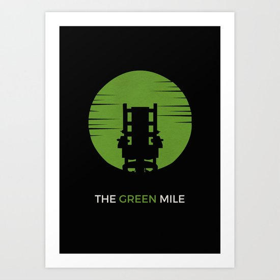 The Green Mile Minimalist Art Print