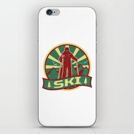 Ski Propaganda | Winter Sports iPhone Skin