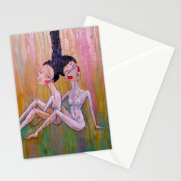 Tied Together Stationery Cards