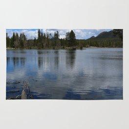 A Visit At Sprague Lake Rug
