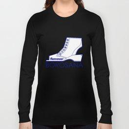 Borosana Borovo -  white nostalgic ortopedic shoe from Yugoslavia Long Sleeve T-shirt