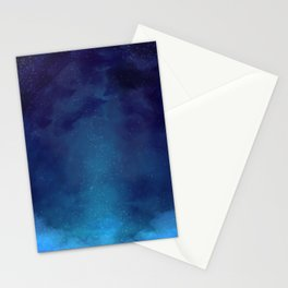 Galaxy Painting Stationery Cards