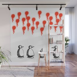 Metaphysical Penguin The Arrival of the Beginning Wall Mural