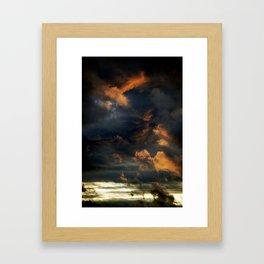 Gloomy Sky 0004 Framed Art Print