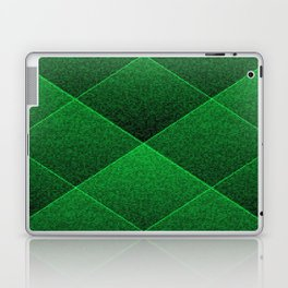 Plush Kelly Green Diamond Laptop & iPad Skin