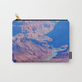 grand canyon and river Carry-All Pouch