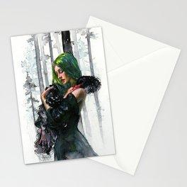 Black Swan Feelings Stationery Cards
