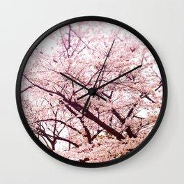 Hiroshima Castle (Cherry Blossom) Wall Clock
