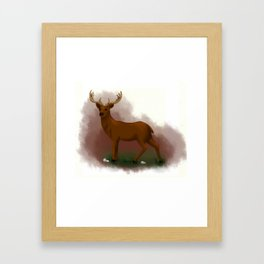 Mister Dear Framed Art Print