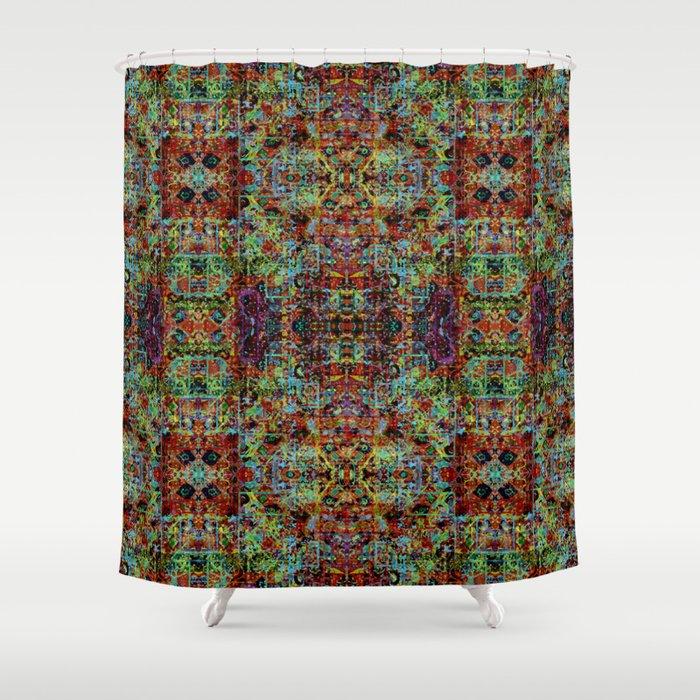 Shimmer Shower Curtain by melasdesign | Society6