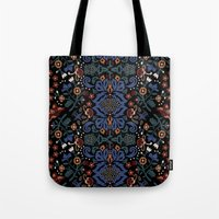 folk Tote Bags featuring Folk by Pommy New York