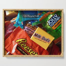 Halloween Candy Serving Tray