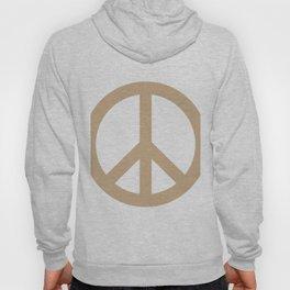 Peace (Tan & White) Hoody