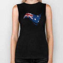 The Flag of Australia I Biker Tank