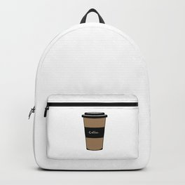 Cream coffee mug  Backpack