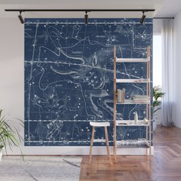 Taurus sky star map Wall Mural