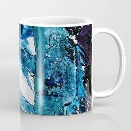Faces in blue Coffee Mug