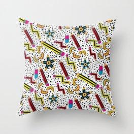 Pencils Print  Throw Pillow