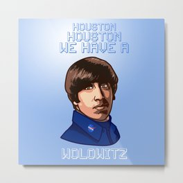 The big bang theority Wolowitz Metal Print