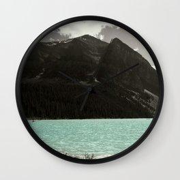 Lake Louise Blue Beauty Wall Clock
