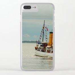 Steamboat Schaarhoern Clear iPhone Case