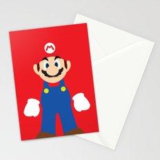 Mario - Minimalist - Nintendo Stationery Cards