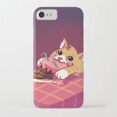 Cake Cat Doodle Slim Case iPhone 7